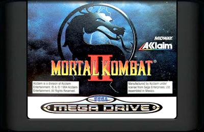 Mortal Kombat II - Cart - Front