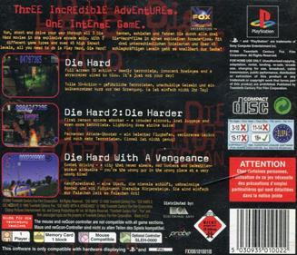Die Hard Trilogy - Box - Back