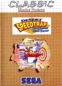 Desert Speedtrap starring Road Runner and Wile E. Coyote