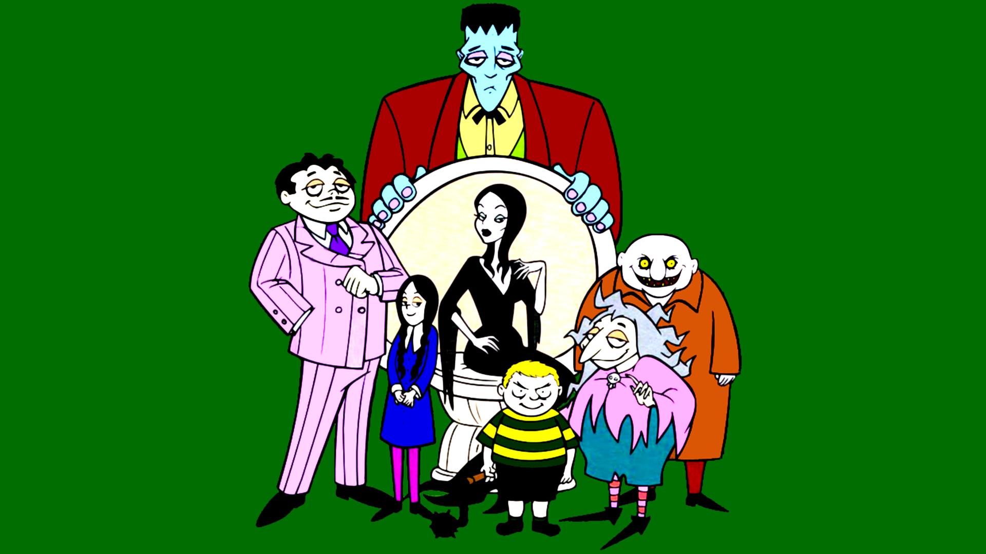 The Addams Family - 90s Cartoons