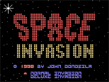 Space Invasion - Screenshot - Game Title