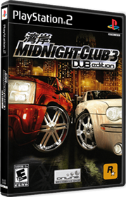 Midnight Club 3: DUB Edition - Box - 3D