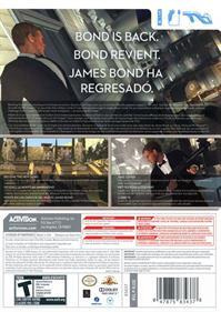 007: Quantum of Solace - Box - Back