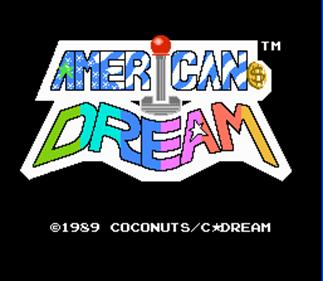 American Dream - Screenshot - Game Title