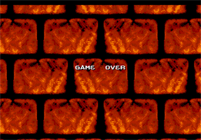 Dragon's Lair: The Adventure Continues - Screenshot - Game Over
