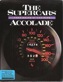 The Supercars: Test Drive II Car Disk