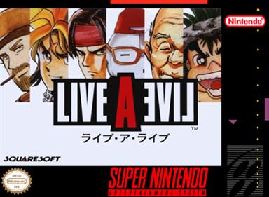 Live A Live - Fanart - Box - Front