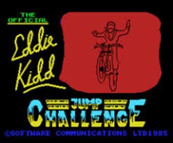 Eddie Kidd Jump Challenge - Screenshot - Game Title