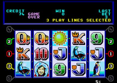 Arctic Wins - Screenshot - Game Over