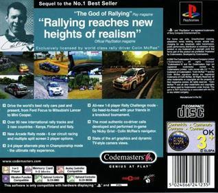 Colin McRae Rally 2.0 - Box - Back