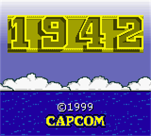 1942 - Screenshot - Game Title