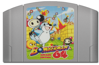 Bomberman 64 Arcade Edition - Cart - Front