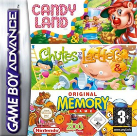 3 Game Pack!: Candy Land + Chutes and Ladders + Original Memory Game