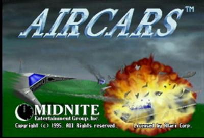AirCars - Screenshot - Game Title