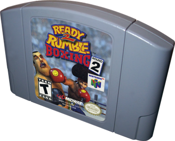 Ready 2 Rumble Boxing: Round 2 - Cart - 3D