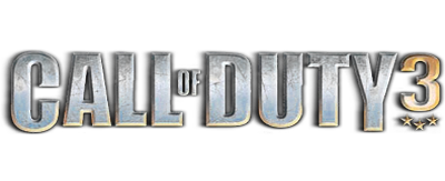 Call of Duty 3 - Clear Logo