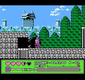 Kyatto Ninden Teyandee - Screenshot - Gameplay