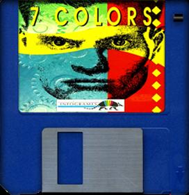 7 Colors - Fanart - Disc