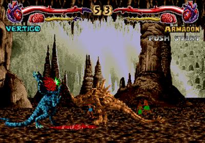 Primal Rage - Screenshot - Gameplay