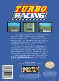 Al Unser Jr. Turbo Racing - Box - Back