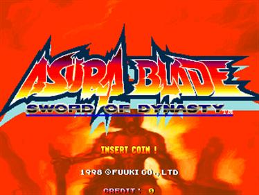 Asura Blade: Sword of Dynasty - Screenshot - Game Title