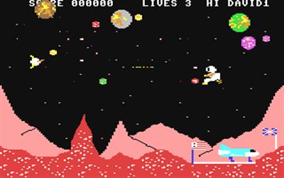 Space Walk (Mastertronic) - Screenshot - Gameplay