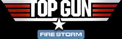 Top Gun: Firestorm - Clear Logo
