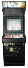Quiz & Dragons: Capcom Quiz Game - Arcade - Cabinet