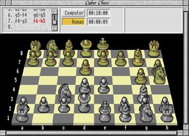Cyber Chess - Screenshot - Gameplay
