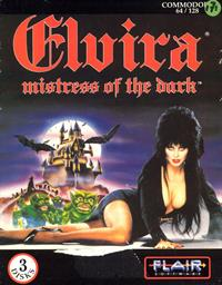 Elvira: Mistress of the Dark - Box - Front