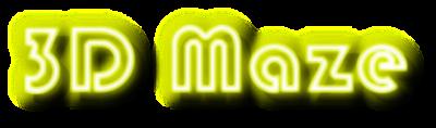 3D Maze (Mastertronic) - Clear Logo