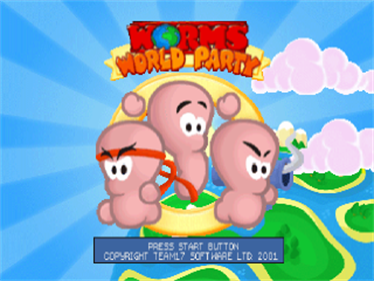 Worms World Party - Screenshot - Game Title