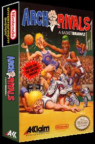 Arch Rivals: A Basketbrawl! - Box - 3D