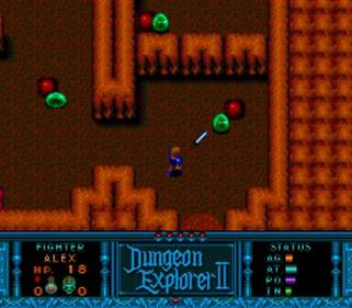 Dungeon Explorer II - Screenshot - Gameplay