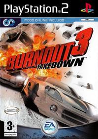 Burnout 3: Takedown - Box - Front