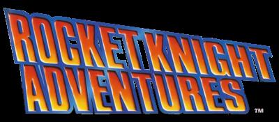 Rocket Knight Adventures - Clear Logo
