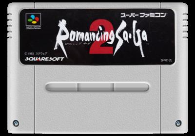 Romancing Sa·Ga 2 - Fanart - Cart - Front