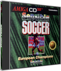 Sensible Soccer: European Champions: Limited Edition featuring World Cup Teams - Box - 3D