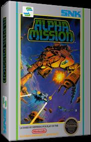 Alpha Mission - Box - 3D
