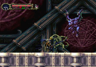 Akumajou Dracula X: Gekka no Yasoukyoku - Screenshot - Gameplay