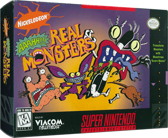 AAAHH!!! Real Monsters - Box - 3D