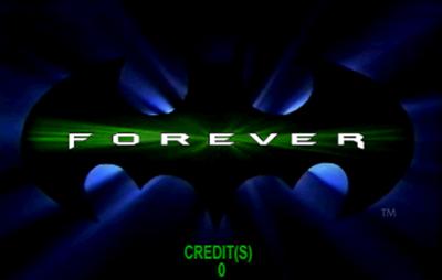 Batman Forever - Screenshot - Game Title