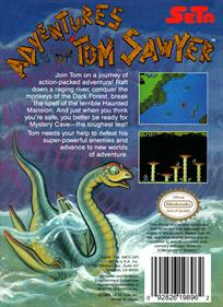Adventures of Tom Sawyer - Box - Back