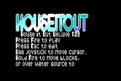 Hose It Out Deluxe - Screenshot - Game Title