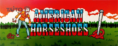 American Horseshoes - Arcade - Marquee