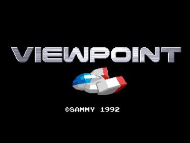Viewpoint - Screenshot - Game Title