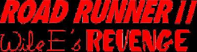 Road Runner II: Wile E's Revenge - Clear Logo