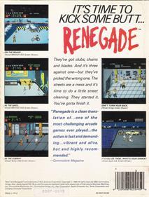 Renegade - Box - Back