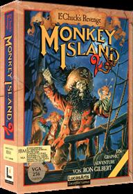 Monkey Island 2: LeChuck's Revenge - Box - 3D