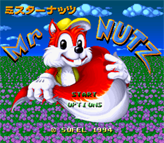 Mr. Nutz - Screenshot - Game Title